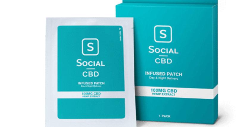 CBD Patch – 100mg (Three Patches)