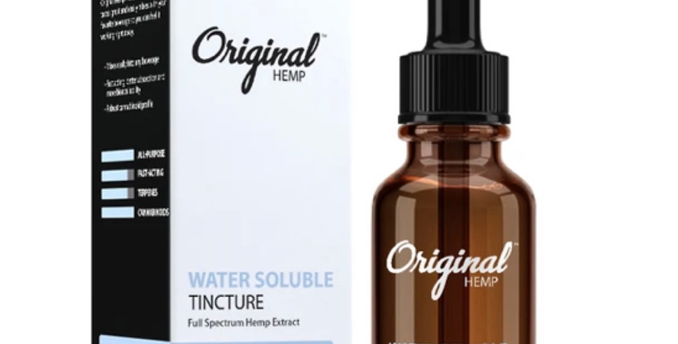 500 MG Water Soluble CBD Tincture | Full Spectrum Hemp Extract (30mL)