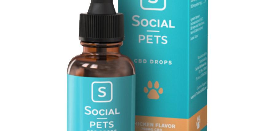 Pets Chicken Flavored Broad Spectrum Drops