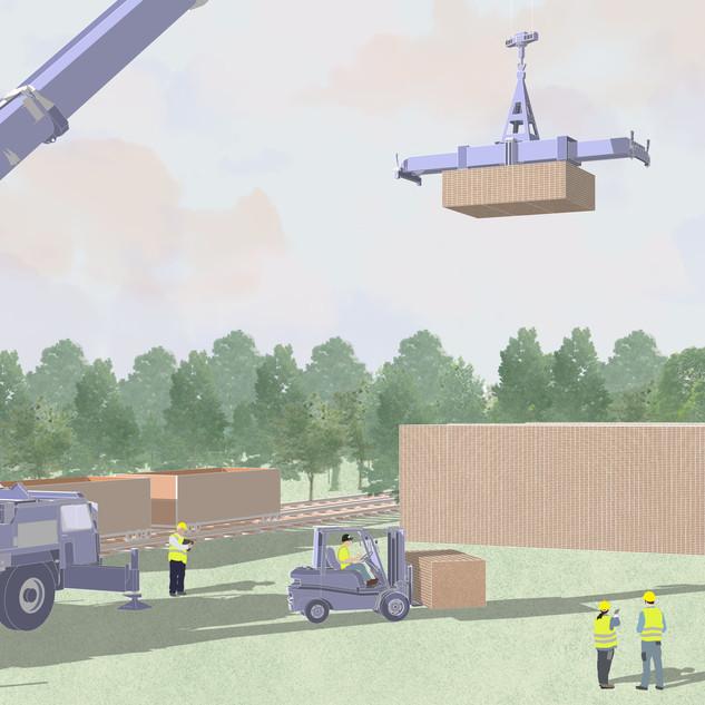 Delivering goods