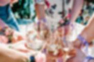 Girls Dancing on Beach