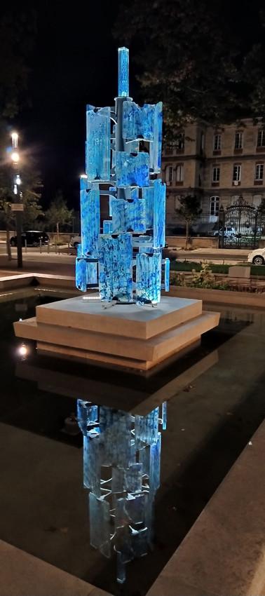Place de la Tour la nuit