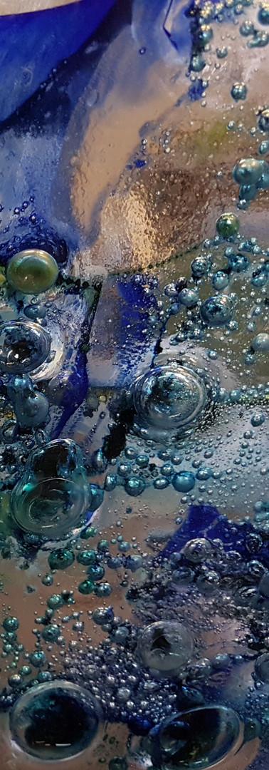 Panneau de verre détail