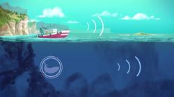 Sound propagation underwater