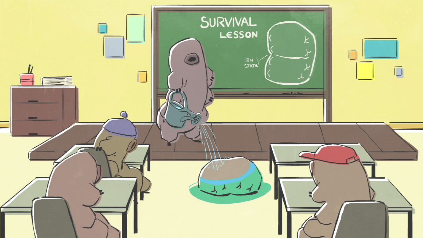 A tardigrade survival lesson