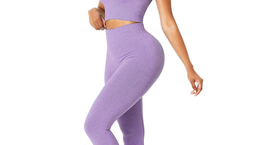 Lilac Karol B Seamless Top & Leggings