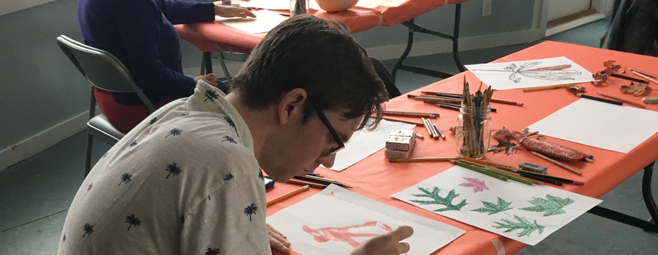 2018 October Art Class at Featherstone