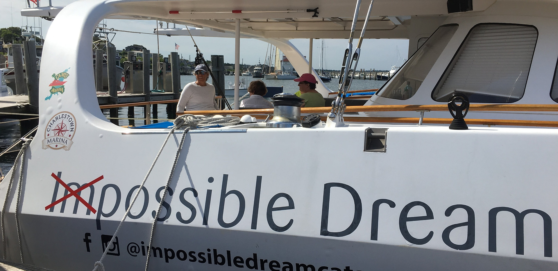 All Aboard the Impossible Dream Catamaran