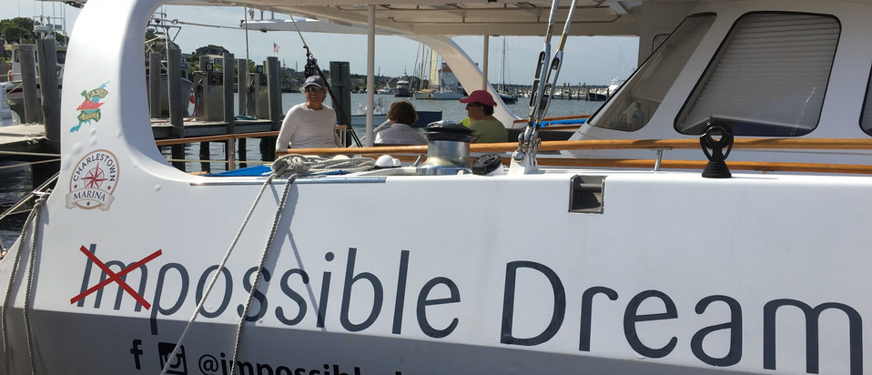 All Aboard the Impossible Dream Catamaran