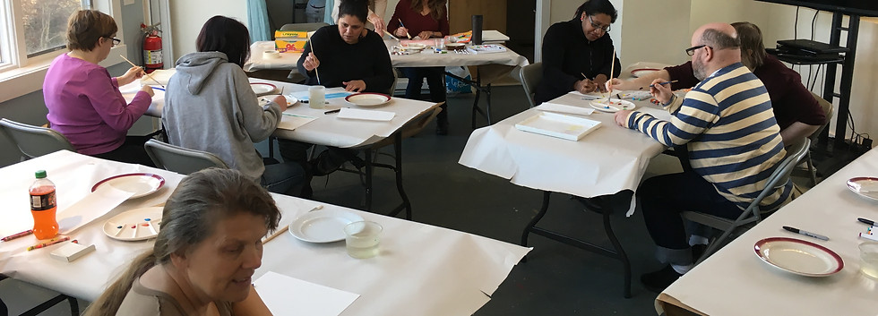 2017 October Art Class at Featherstone