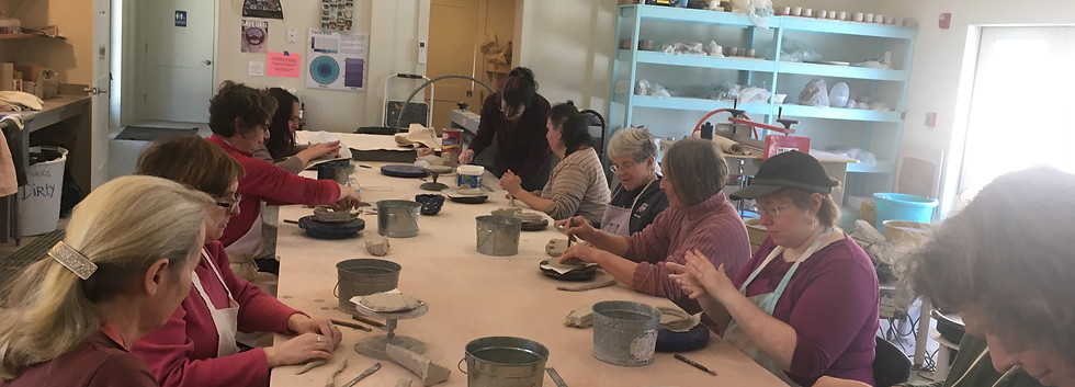 Pottery at Featherstone 2018