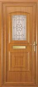 UPVC oak door