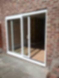 UPVC sliding patio door