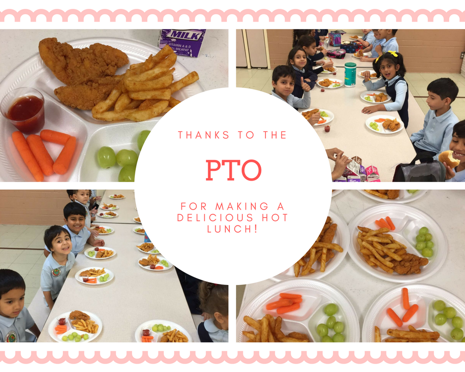 PTO Hot lunch
