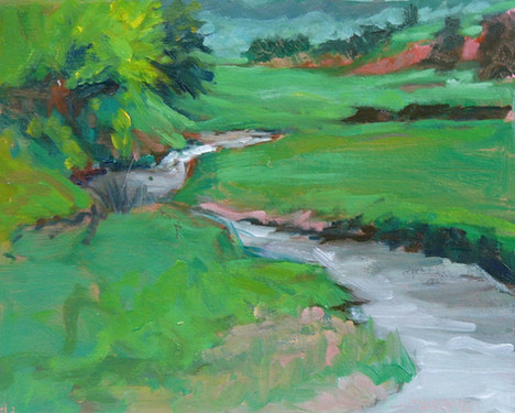 Miller Creek 10 X 8 Oil