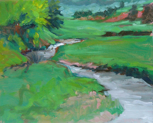 Miller Creek 10 X 8 Oil