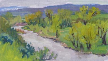 Greener Pastures 14x8 Oil