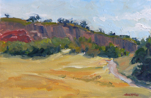 Mid Morning South Valley 10x8 Oil
