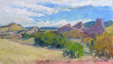 South Valley Park 19 X 11 Oil