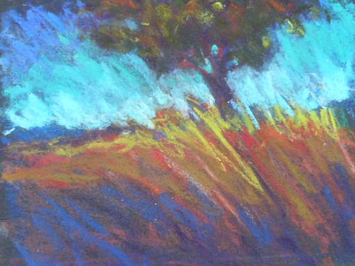 Lone Tree Pastel