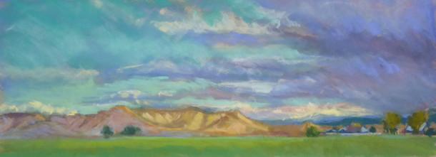 Vincent Ranch 19 X 7 Pastel
