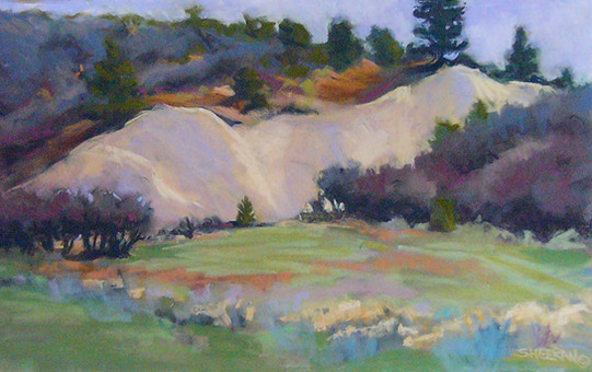 Oakbrush Country 18 X 11 Pastel