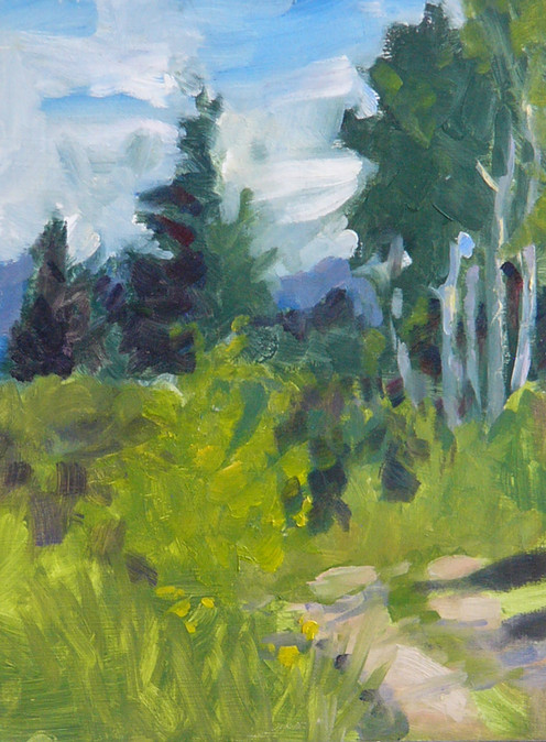 Aspens and Pines Oil