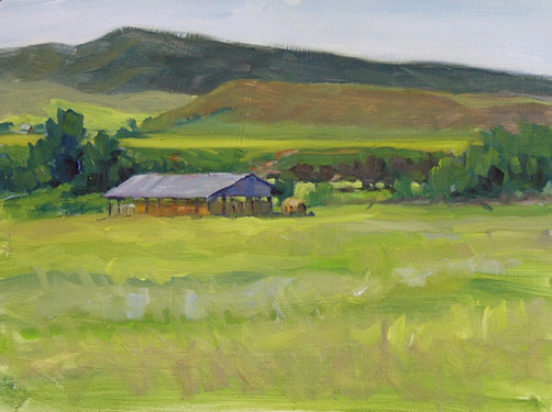 Nelson's Hay Shed 9 X 12 Oil