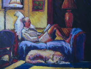 "News....Painting ""Comfort"" Juried"