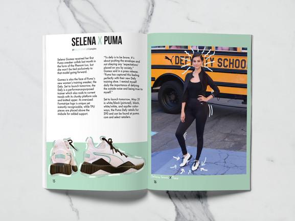 Selena X Puma (Article)