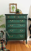 Empire-Dresser-Painted-in-Layered-Chalk-