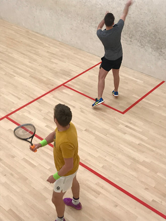Squash up and playing from 1st Sept