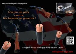 GERARD-BOGO IMAGINER L'ARME DE PAIX