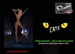 GERARD-BOGO CATS-WOMAN