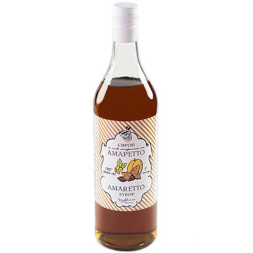 Сироп Royal Cane Амаретто 1 литр, стекло (6 шт.)