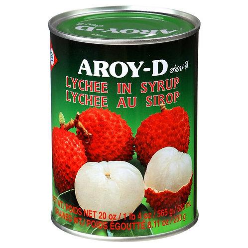 Личи в сиропе AROY-D 565 г (24 шт.)