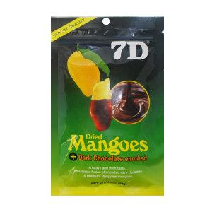 Манго 7D | Манго в темном шоколаде 80г (25 шт)