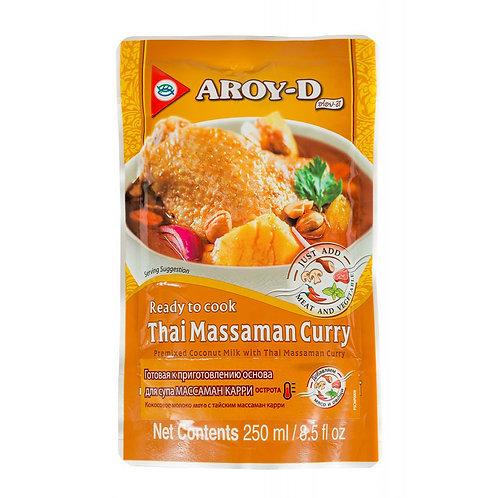 Основа для супа «Массаман карри» AROY-D 250 мл (36 шт.)
