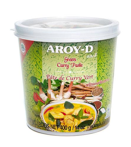 Паста карри зеленая AROY-D 400 г (24 шт.)