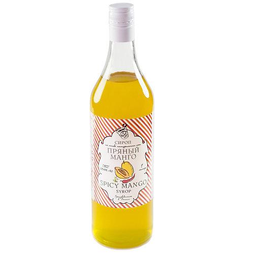 Сироп Royal Cane Пряный манго 1 литр, стекло (6 шт.)