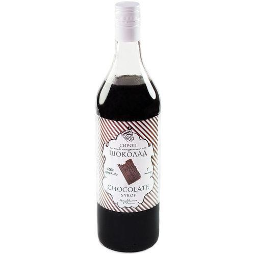 Сироп Royal Cane Шоколад 1 литр, стекло (6 шт.)