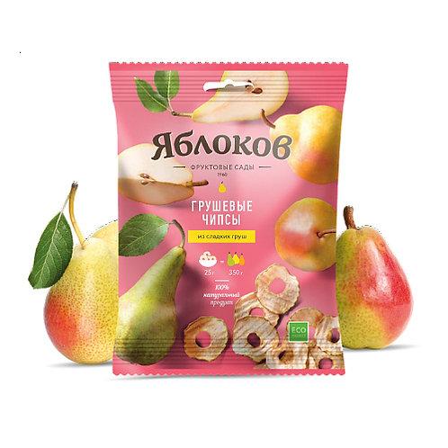 Грушевые чипсы Яблоков 25 г (30 шт.)