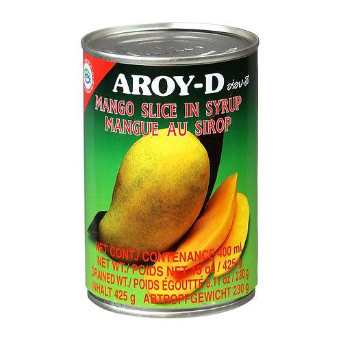 Манго (дольки) в сиропе AROY-D 425 г (24 шт.)