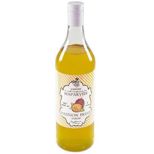 Сироп Royal Cane Маракуйя 1 литр, стекло (6 шт.)
