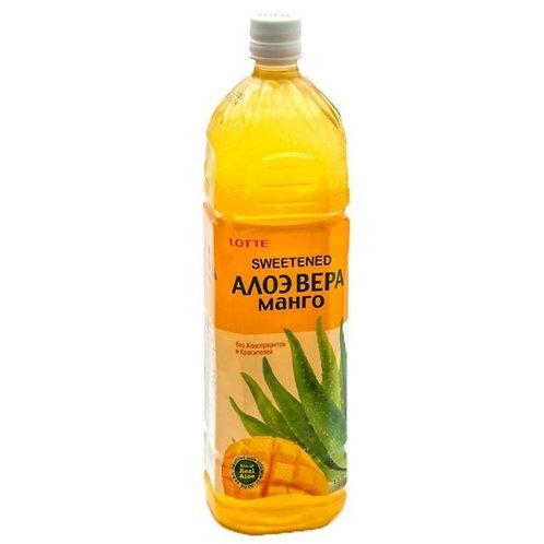 Напиток Алоэ Вера LOTTE   Манго 1,5 л (12 шт)