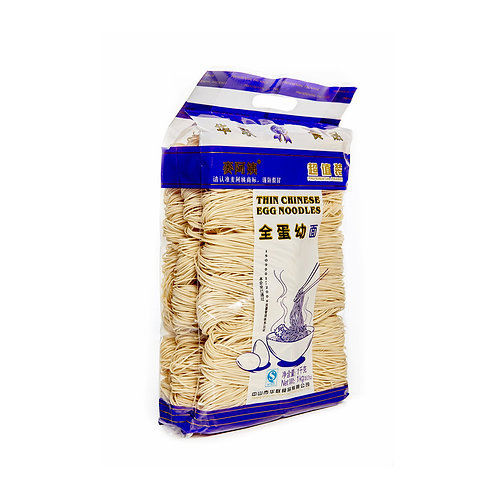 Китайская яичная лапша MAI A YI 1 кг (12 шт.)