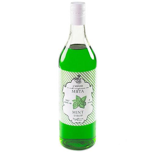 Сироп Royal Cane Мята 1 литр, стекло (6 шт.)