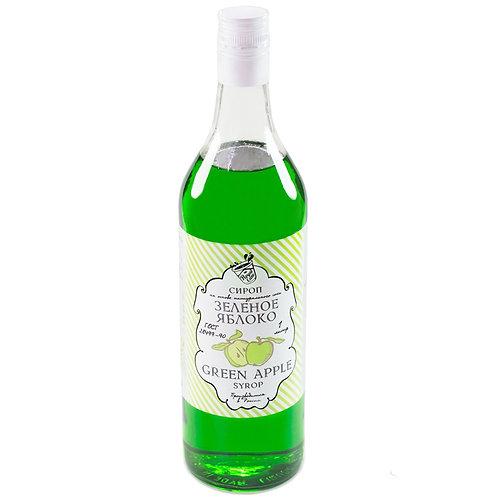 Сироп Royal Cane Зеленое яблоко 1 литр, стекло (6 шт.)