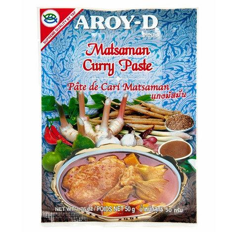 Паста «Массаман» AROY-D (12 пакетиков по 50 г, 120 шт.)
