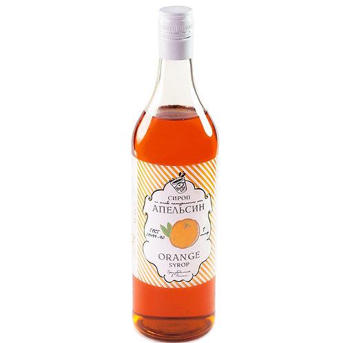 Сироп Royal Cane Апельсин 1 литр, стекло (6 шт.)